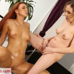 VIPissy presents Lexy Star & Morgan in Wet Sex Toys