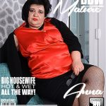 Mature.nl presents Anna (EU) (45) in curvy BBW Anna playing with herself – 05.06.2018