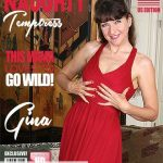 Mature.nl presents Gina (48) in American temptress Gina pleasing herself – 31.05.2018
