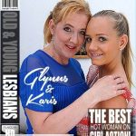 Mature.nl presents Glynis (47), Karis (20) in These old and young lesbians Glynis and Karis playing with eachother – 20.06.2018
