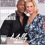 Mature.nl presents Molly Maracas (EU) (54) in British housewife Molly Maracas goes interracial – 08.06.2018