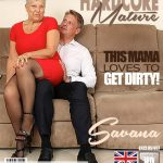 Mature.nl presents Savana (EU) (60) in British older lady Savana fucking and sucking – 14.06.2018
