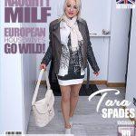 Mature.nl presents Tara Spades (40) in British MILF Tara Spades playing with herself – 07.06.2018