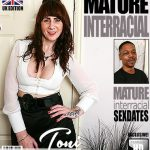 Mature.nl presents Toni Lace (EU) (52) in British housewife Toni Lace goes interracial – 20.06.2018