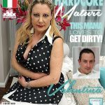 Mature.nl presents Valentina (51) in Italian curvy housewife Valentina doing her toyboy – 16.06.2018