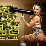 Vrcosplayx presents Alexxa Vice in Tank Girl A XXX Parody
