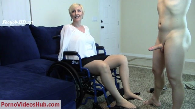 Watch Online Porn – Brittany Lynn in Blind Amputee Paraplegic Mom Footjob BJ (MP4, HD, 1280×720)