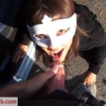 BruceAndMorgan presents Bruce & Morgan in parking lot perversions