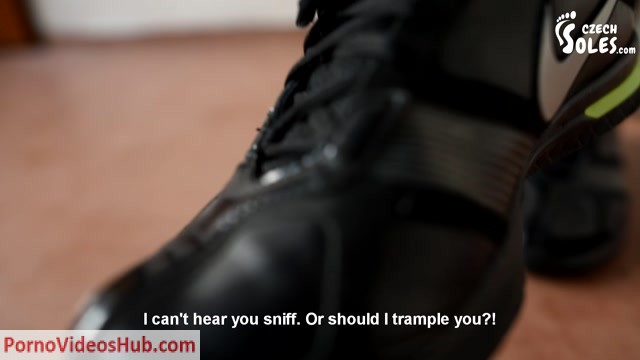 Watch Online Porn – CzechSoles presents Trampling and foot humiliation by Eliska (MP4, FullHD, 1920×1080)