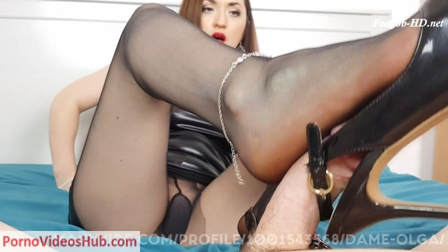 Watch Online Porn – Dame Olgas Foot Fetish Club presents Edging Footjob: How Long Can You Last (MP4, FullHD, 1920×1080)