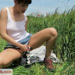ManyVids presents Mylene in CUSTOM: Farmers daughter loves to fuck – 22.06.2018 (Premium user request)