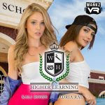 WankzVR presents Adria Rae & Kali Roses – Higher Learning part 1