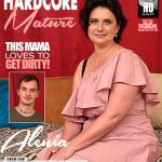 Mature.nl presents Alenia (47) in curvy housewife Alenia doing her toyboy – 14.07.2018