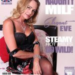 Mature.nl presents Elegant Eve (EU) (42) in British MILF Elegant Eve fingering herself – 13.07.2018