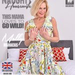 Mature.nl presents Molly Maracas (EU) (54) in British housewife Molly Maracas playing with her glass dildo – 27.07.2018