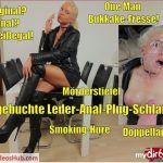MyDirtyhobby presents Daynia – One Man Bukkake-Fresse nach Leder-Anal-Plug-Schlampen Arschfick – One Man Bukkake Face For Leather Anal Plug Sluts Assfuck!