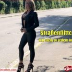 MyDirtyhobby presents Daynia – Strassenflittchen – Ich steig zu jedem ins Auto – Strassenflittchen! I'm getting in the car for everyone!