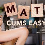 VRBangers presents Reagan Foxx in Math Cums Easy – 27.07.2018