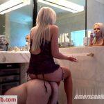 AmericanMeanGirls presents Nina Elle – Human Cuckold Seat