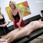 Kinki Cory in Sydney Hail Torture Handjob Training