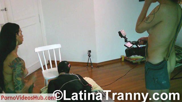 Watch Online Porn – LatinaTranny presents Nikki Behind Scenes Bukkake 2 (WMV, HD, 1280×720)