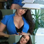 GoddessSnow presents Alexandra Snow in Mommie Helps with Your Homework