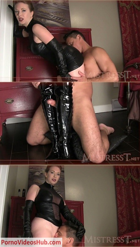 mistress t in boots