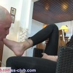 YoungGoddessClub presents Goddess Gaelle in Slave to your feet Mistress