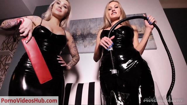 Watch Online Porn – Violet Doll in Double CBT – Featuring Stella Sol (MP4, FullHD, 1920×1080)