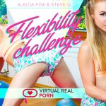 VirtualRealPorn presents Alecia Fox in Flexibility Challenge – 23.07.2018