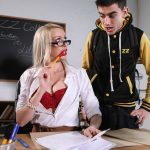 Brazzers – BigTitsAtSchool presents Amber Jayne in Pounded By The Plagiarist – 26.07.2018