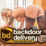 MilfVR presents Nina Elle in Backdoor Delivery