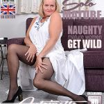 Mature.nl presents Antoinette (EU) (63) in British mature Antoinette fingering herself – 01.08.2018