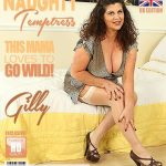 Mature.nl presents Gilly (EU) (52) in British big breasted Gilly playing with her vibrator – 11.08.2018