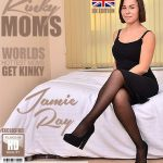 Mature.nl presents Jamie Ray (EU) (36) in British mom Jamie Ray playing in bed – 01.08.2018