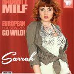 Mature.nl presents Sarrah (36) in steamy MILF Sarrah fingering herself – 06.08.2018