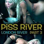 Realtimebondage presents London River in Piss River Part 3