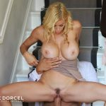 DorcelClub presents Rebecca More, Tina Kay, Cassie Del Isla, Alexis Fawx in Making Of – A 40 year old widow – 30.08.2018