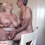 BBW Mature Lady with Old Guy