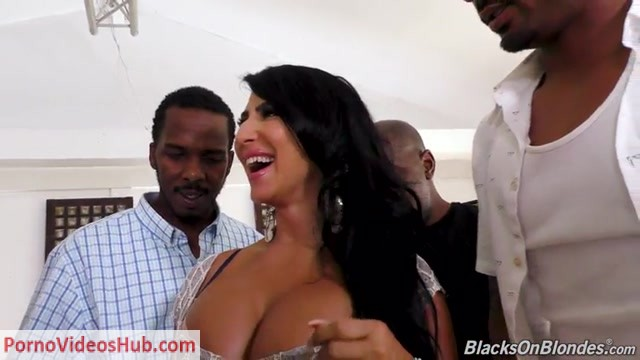 Watch Online Porn – DogFartNetwork – BlacksOnBlondes presents Raven Hart – GangBang Big Black Cock – 21.08.2018 (MP4, SD, 768×432)