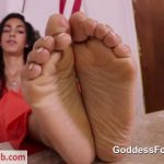Goddess Footjobs presents Claire Black in Wardens Rules