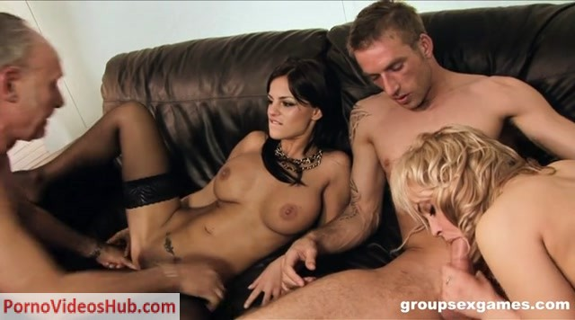 Watch Online Porn – GroupSexGames presents Black Angelika and Britney (MP4, SD, 720×400)
