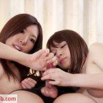 HandjobJapan presents Rin Miura and Sakura Aoi double handjob