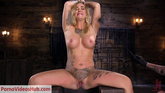Watch Online Porn – Hogtied presents Kleio Valentien – Tattooed Slut Is Tormented In Bondage And Made To Cum – 16.08.2018 (MP4, HD, 1280×720)