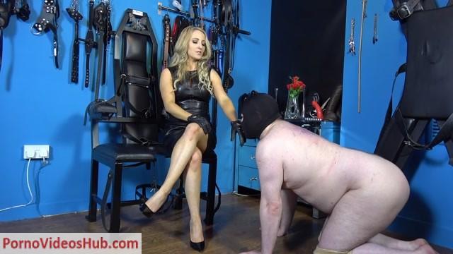 Watch Online Porn – Mistress Courtney – Useless Leather Worship Bitch (MP4, FullHD, 1920×1080)