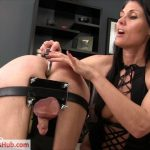 Obey Melanie presents Goddess Melanie in Balls in Bondage
