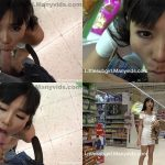 ManyVids Webcams Video presents Girl Littlesubgirl in Public Facial & Cum Walk At Crowded Mall