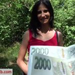PublicAgent presents Aria Rossi in Agent creampies busty lady for cash – 16.08.2018