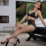 InTheCrack presents #1438 Sabina Rouge in Whoreville Red in Blacker – 13.08.2018