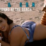 ManyVids presents Korina Kova in Mom & Son make a porno at the beach (Premium user request)